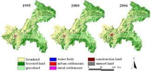 Land Use Land Cover Changes over years, with the help of classification in GIS